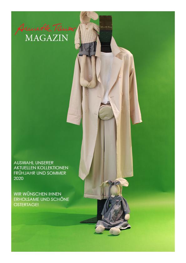Magazin Titel | Magazin der Annette Tänzer GmbH Köln